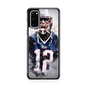 Tom Brady New England Patriots 5 Samsung Galaxy S20 Phone Case
