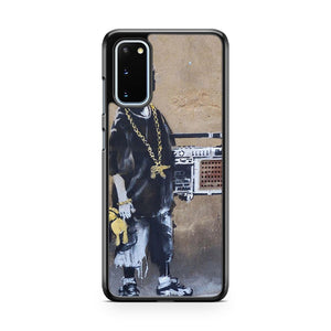 Banksy Ghetto Boy Samsung Galaxy S20 Phone Case