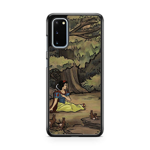 Doctor Who Meets Snow White Samsung Galaxy S20 Phone Case