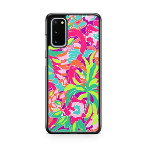 Lilly Pulitzer Flamingo Samsung Galaxy S20 Phone Case