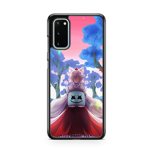 Marshmello Anime Samsung Galaxy S20 Phone Case