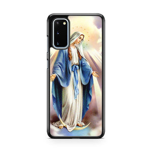 Mary Mother Of Jesus Samsung Galaxy S20 Phone Case
