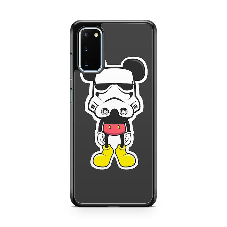 Mickey Mouse Stromtrooper Samsung Galaxy S20 Phone Case