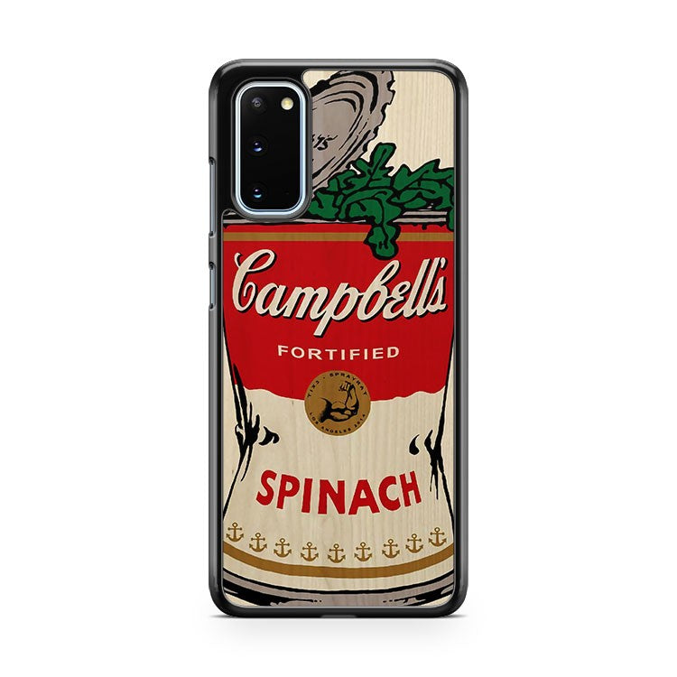 Popeye Campbell's Spinach Samsung Galaxy S20 Phone Case
