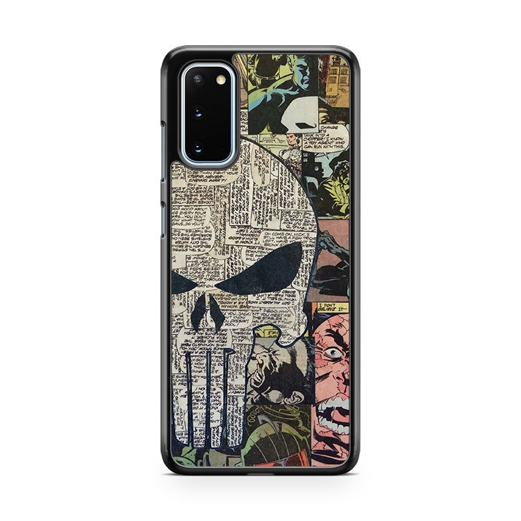 Punisher Comic Collage Samsung Galaxy S20 Phone Case