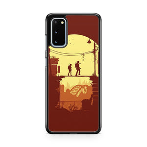 The Last Of Us Silhouette Samsung Galaxy S20 Phone Case