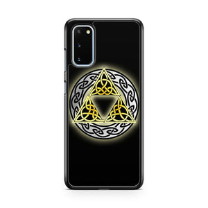 The Legends Of Zelda Celtic Triforce Samsung Galaxy S20 Phone Case