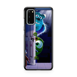 Disney Monsters Inc University Mike Sulley Samsung Galaxy S20 Phone Case