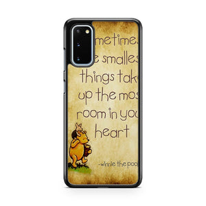 Disney Winnie The Pooh Quote Samsung Galaxy S20 Phone Case