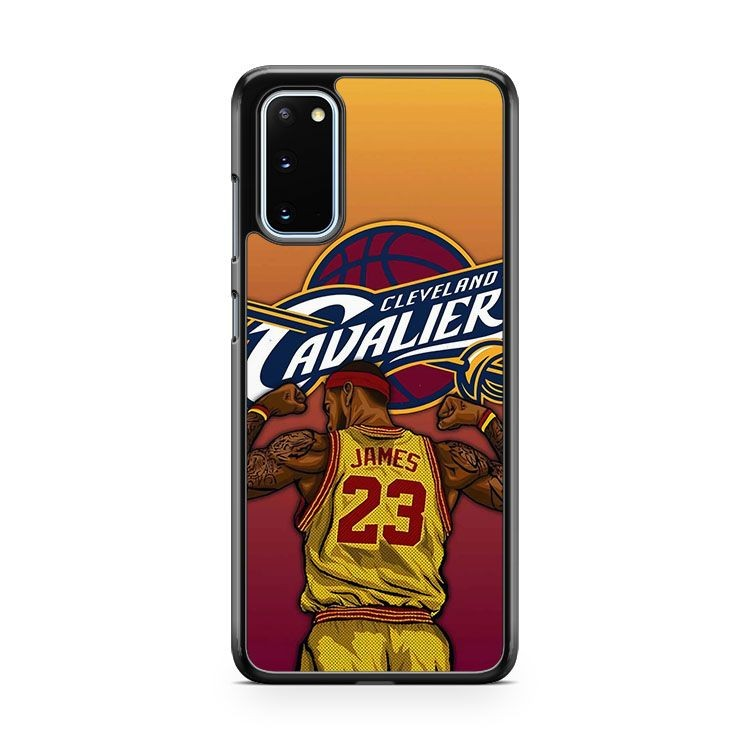 Lebron James 23 Cleveland Samsung Galaxy S20 Phone Case