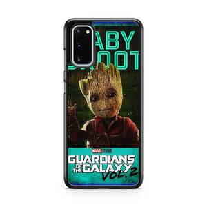 Marvel Guardians Of The Galaxy Baby Groot Samsung Galaxy S20 Phone Case