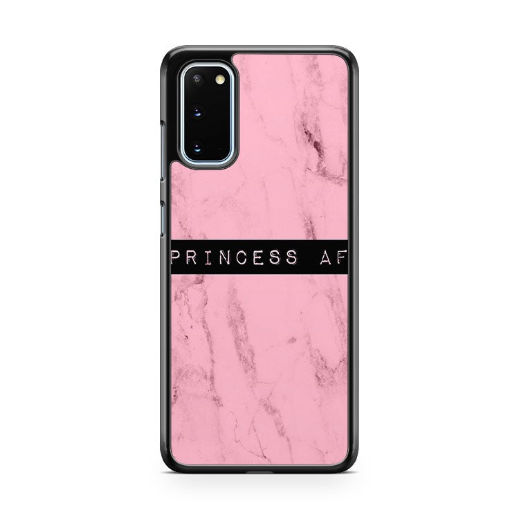 Princess Af Pink Marble Samsung Galaxy S20 Phone Case