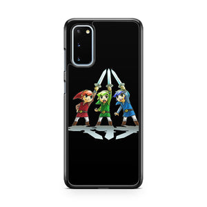 Legend Of Zelda Triforce Heroes 1 Samsung Galaxy S20 Phone Case