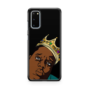 The King Biggie Smalls Samsung Galaxy S20 Phone Case