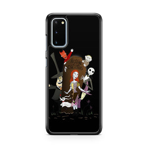 The Nightmare Before Christmas 4 Samsung Galaxy S20 Phone Case