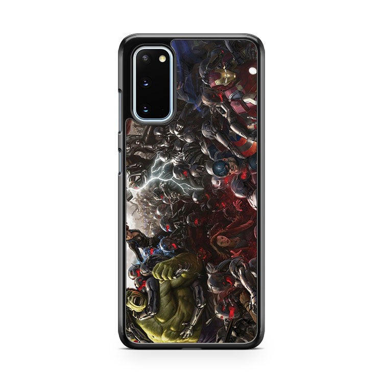 Avengers Age Of Ultron Art Poster Samsung Galaxy S20 Phone Case