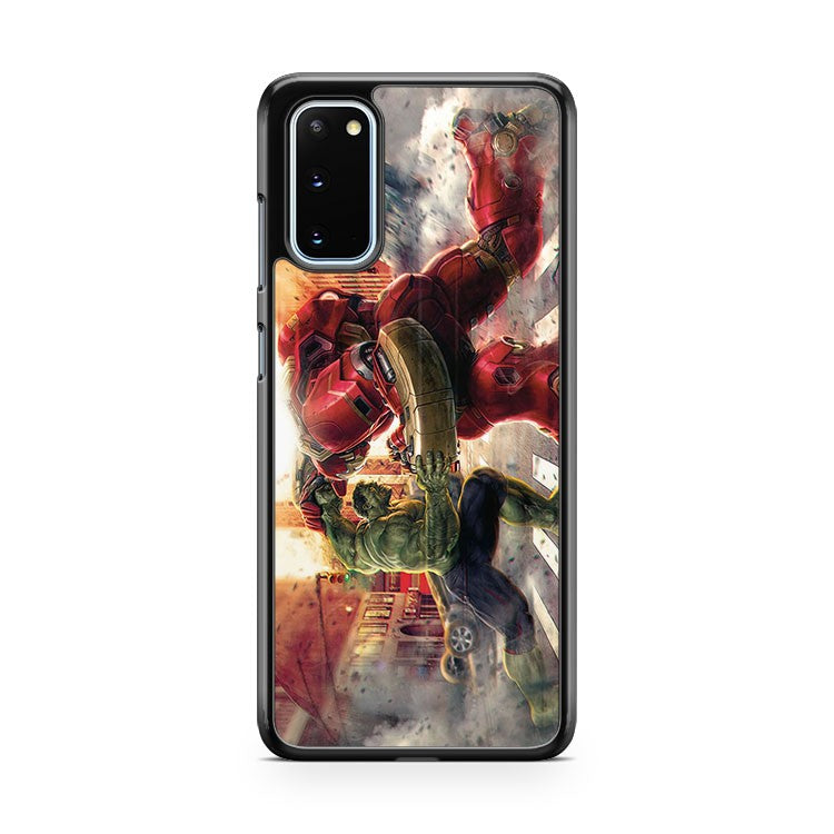 Avengers Age Of Ultron Fight Samsung Galaxy S20 Phone Case