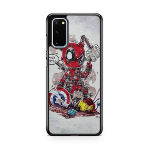 Deadpool Vs The Avengers Samsung Galaxy S20 Phone Case