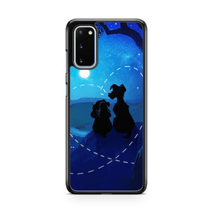 Disney Lady And The Tramp 2 Samsung Galaxy S20 Phone Case