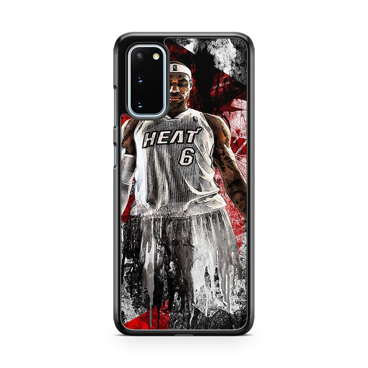 Lebron James Cleveland Cavs 4 Samsung Galaxy S20 Phone Case