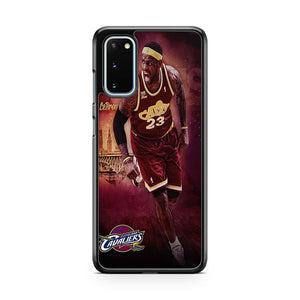 Lebron James NBA Cleveland Cavaliers 23 Samsung Galaxy S20 Phone Case