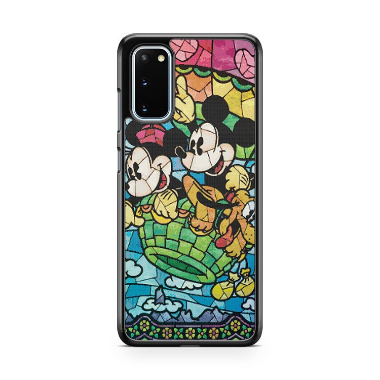 Mickey Mouse Stained Glass Samsung Galaxy S20 Phone Case