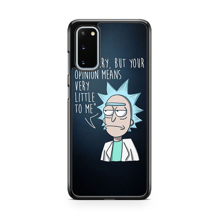 Rick And Morty Quote Samsung Galaxy S20 Phone Case