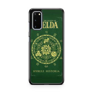 The Legend Of Zelda Blegend Of Zelda Hyrulack Samsung Galaxy S20 Phone Case