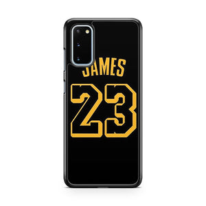 Lebron James Jersey 23 Samsung Galaxy S20 Phone Case