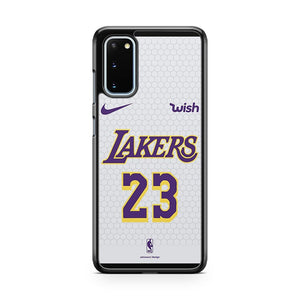 Lebron James Jersey Lakers 23 2 Samsung Galaxy S20 Phone Case