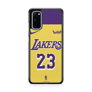 Lebron James Jersey Lakers 23 3 Samsung Galaxy S20 Phone Case