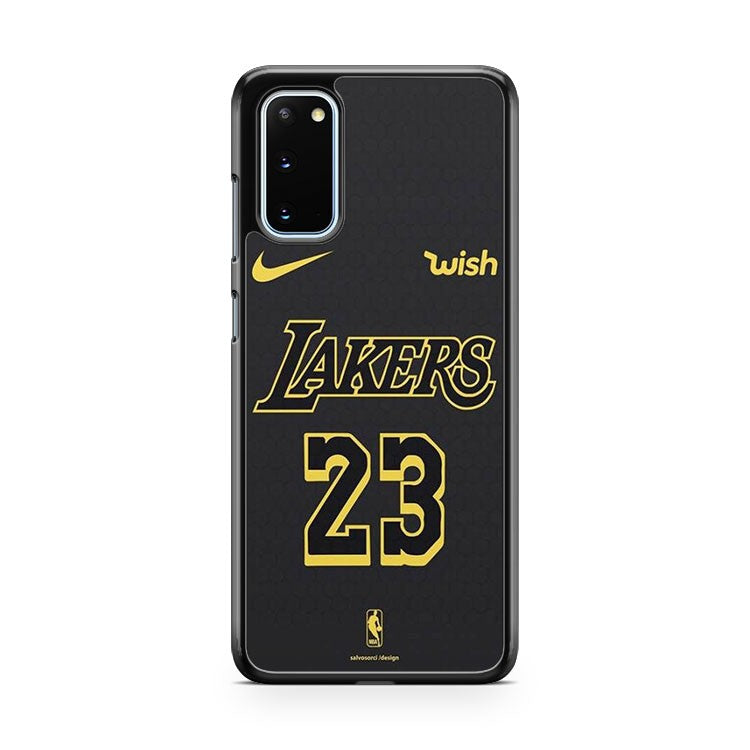 Lebron James Jersey Lakers 23 Samsung Galaxy S20 Phone Case