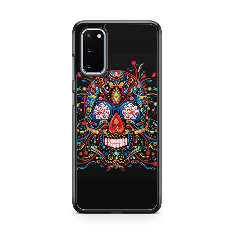 Mexican Skull Day Of The Dead Samsung Galaxy S20 Phone Case