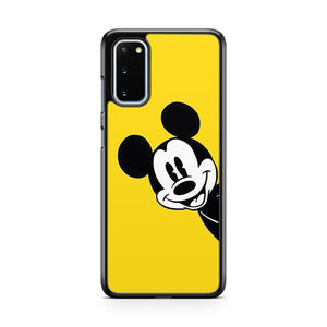Mickey Mouse Yellow Samsung Galaxy S20 Phone Case