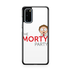Rick And Morty The Morty Party Samsung Galaxy S20 Phone Case