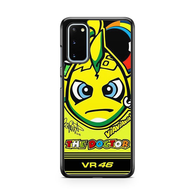 The Doctor Valentino Rossi VR 46 4 Samsung Galaxy S20 Phone Case