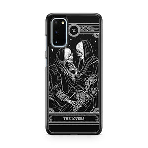 The Lovers Skull Samsung Galaxy S20 Phone Case