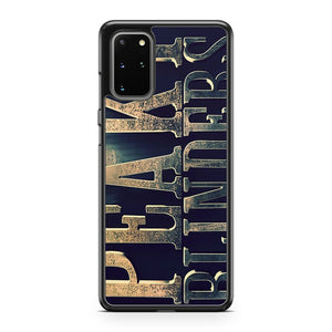 Peaky Blinders Gangster Maffia Samsung Galaxy S20 Plus Phone Case
