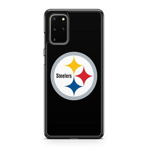 Pittsburgh Steelers Black Samsung Galaxy S20 Plus Phone Case
