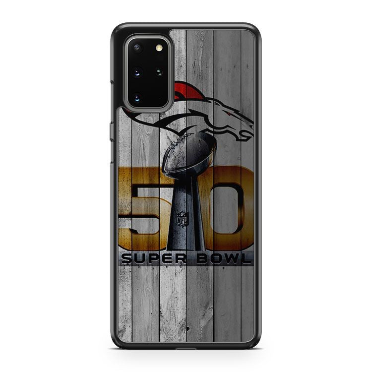 Denver Broncos Super Bowl 50 Champions Samsung Galaxy S20 Plus Phone Case