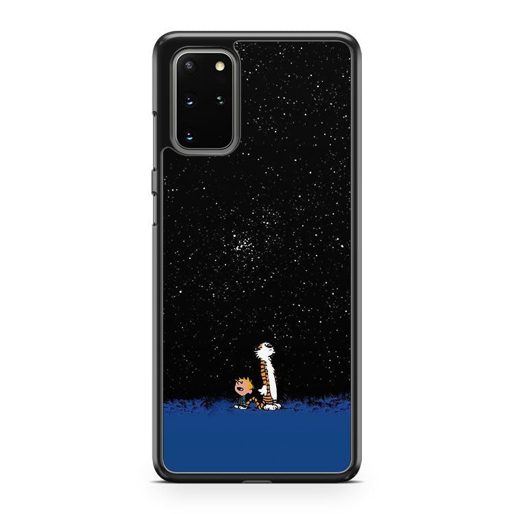 Calvin And Hobbes Daily Comic Strip Samsung Galaxy S20 Plus Phone Case