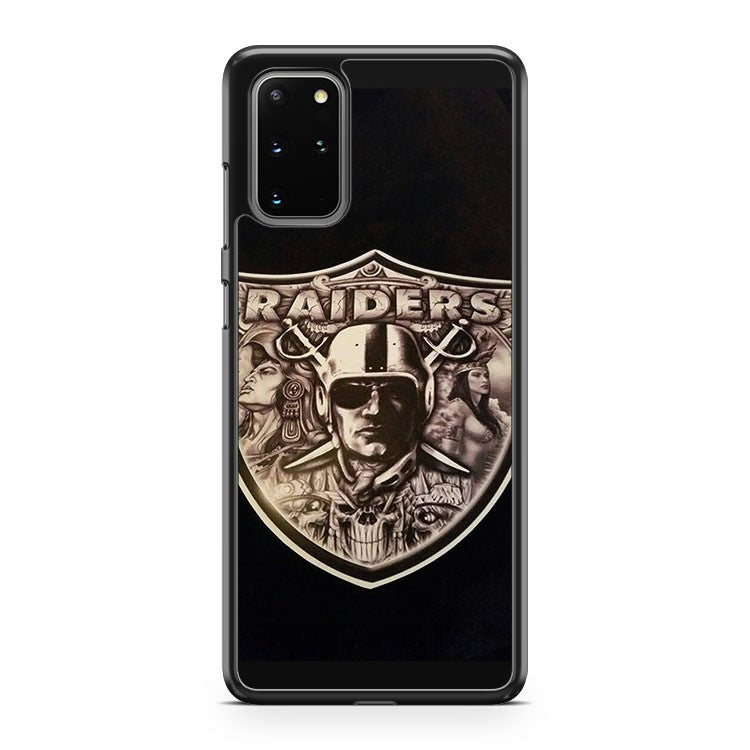 Oakland Raiders 9 Samsung Galaxy S20 Plus Phone Case