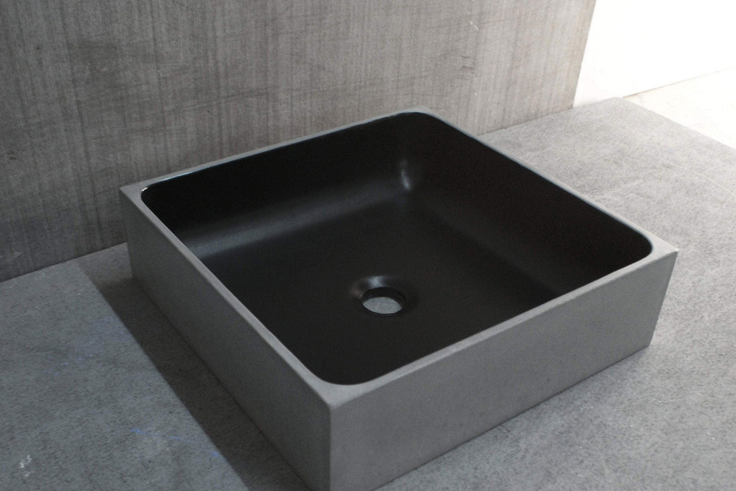 PLINT 40 - Bi-Color Bathroom Sink - robertotiranti.shop