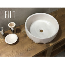 Load image into Gallery viewer, Flut - White Concrete Sink - robertotiranti.shop