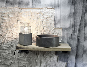 Oi - Charcoal Bathroom Sink Vessel - robertotiranti.shop