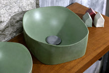 Load image into Gallery viewer, Libby  -  Green Bathroom Sink - robertotiranti.shop