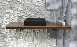 Plint - Grey Bathroom Sink - robertotiranti.shop