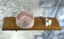 Load image into Gallery viewer, Oi - Pale Pink Concrete Sink - robertotiranti.shop
