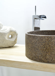Mosaic - Stone Bathroom Sink - robertotiranti.shop