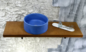 Oi - Blue Concrete Sink Bathroom - robertotiranti.shop